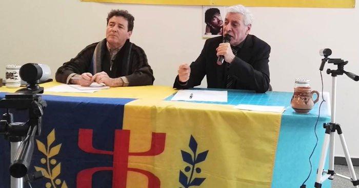 Conférence de Ferhat Mehenni et Hamid Salmi à Champigny