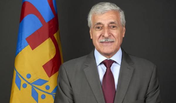 Le Président de l'Anavad accepte la démission du Gouvernement Ziani