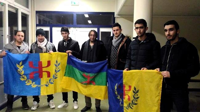 La coordination MAK-Anavad du Nord de la France solidaire des militants souverainistes en Kabylie