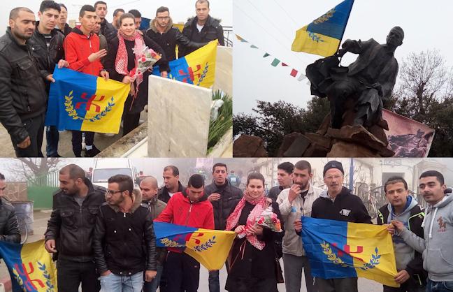 Les coordinations MAK-Anavad de l'Ouest, de l'Est et du Sud à At Yenni pour un hommage à Mouloud Mammeri