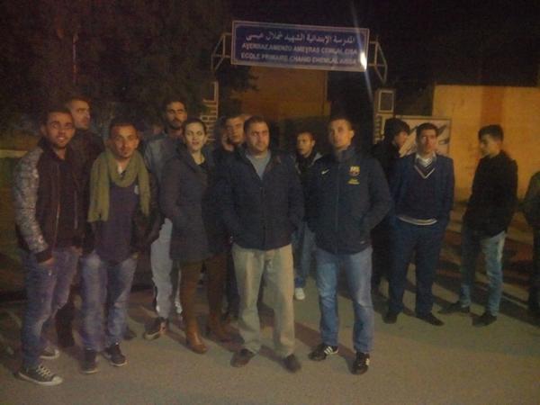 Les militants du MAK-Anavad de Tizi Wezzu vont passer la nuit à Rafour à cause de la multiplication des barrages
