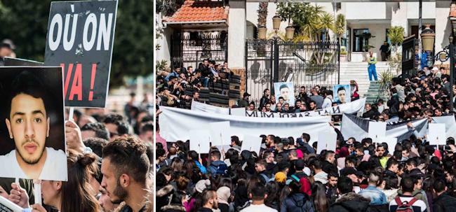 Meurtre de Djamel Souak : Marche des étudiants de Tizi Wezzu pour dénoncer une « insécurité institutionnalisée »