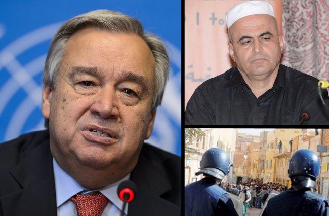 La lettre d'Izmulen pour les droits des At-Mzab à Antonio Guterres, le nouveau SG de l'ONU