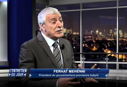 Le président Ferhat Mehenni salue la bravoure des militants et le sens de l'honneur des citoyens de Tazmalt