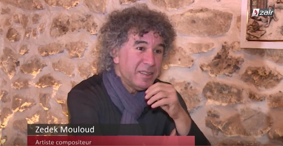 Zedek Mouloud regrette que les artistes d'aujourd'hui ne s'engagent plus comme avant