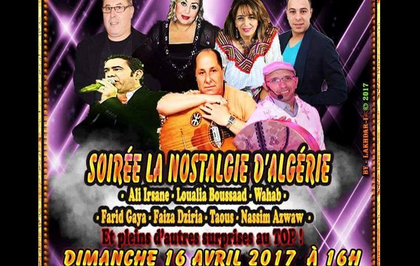 Organisation d'un gala festif «La Nostalgie d'Algérie» pour contrer la grande marche de la diaspora kabyle