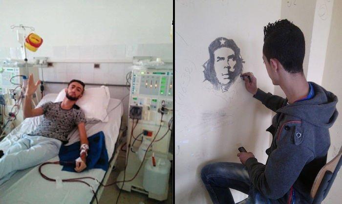 Le village Agouni Boufal appelle à la solidarité avec le jeune dessinateur Massinissa Yessad