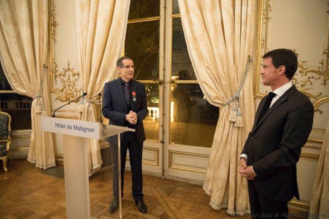 L'astrophysicien franco-kabyle Tahar Amari décoré de la légion d'honneur : il rend hommage à son père