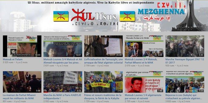 Ul Ifsus, le youtubeur souverainiste qui s'adresse aux kabyles d'Alger et d'ailleurs