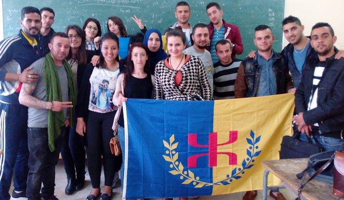 Réunion en visioconférence entre le Président de l'Anavad et les étudiants militants de Tizi Wezzu