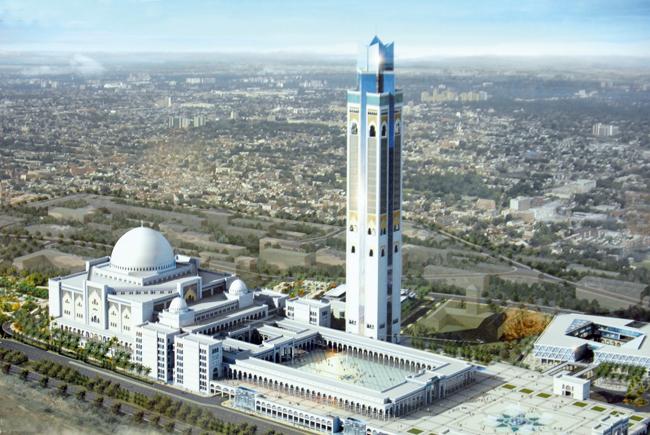 La Grande Mosquée d'Alger, une contradiction haute de 270 m