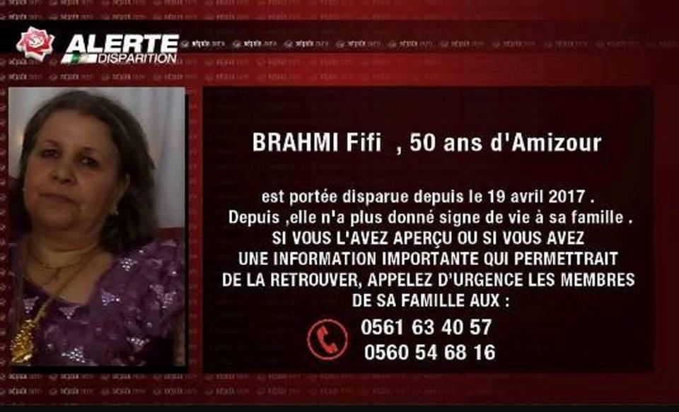 Disparition d'une femme agée de 50 ans à Amizour