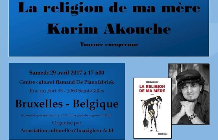 Commémoration des Printemps kabyles de 1980 et 2001 à Bruxelles ce 29 avril