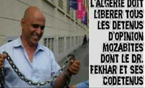 Agenda : Rassemblement en soutien au Dr  Fekhar à Paris et Genève ce week-end