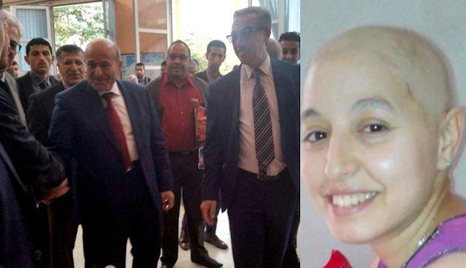 Issad Rebrab s'est engagé à prendre en charge les soins de Chafia, atteinte de la maladie de Hodkin
