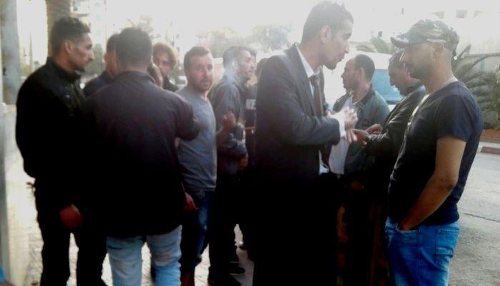 Les militants arrêtés à Aqvu relâchés : La police coloniale a tabassé le père de Kouceila Ikken, âgé de 65 ans