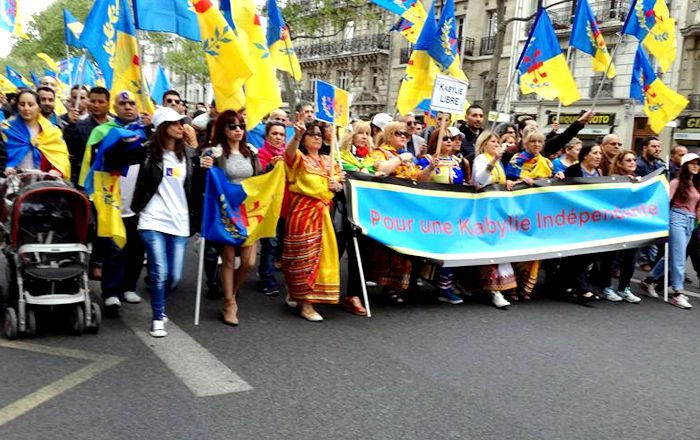 MAK France-Centre : Appel à rassemblement dimanche 17 novembre devant l'ambassade d'Algérie à Paris