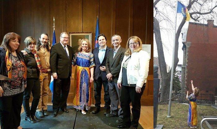 Compte-rendu de la commémoration du printemps kabyle à Montréal en présence de M. Mario Beaulieu