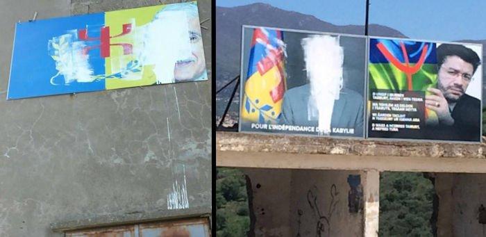 Récidive : les portraits du Président de l'Anavad à Tavuda et Tawrirt vandalisés