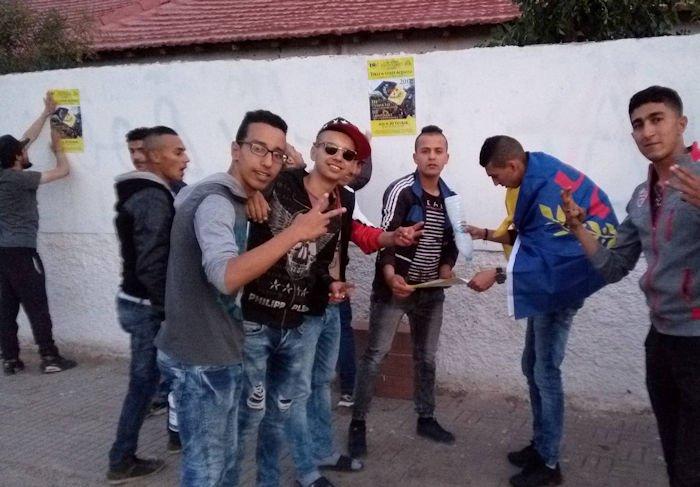 Campagne d'affichage réussie dans la région de Raffour pour la marche de Tuvirett