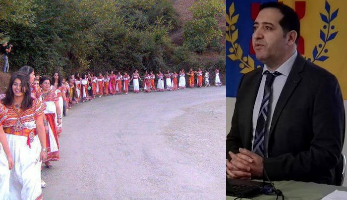 Le Ministre de la langue et de la culture kabyles propose une journée nationale et internationale de la robe kabyle