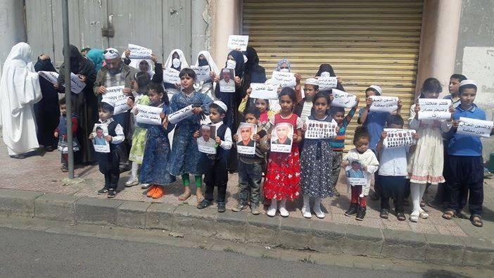 La police algérienne a dispersé le rassemblement des femmes et enfants des détenus mzabs