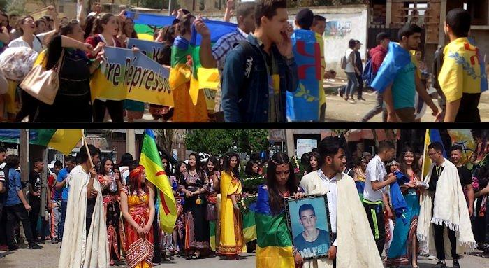 Les lycées de Boudjima, Illulen Umalu et Mekla ont marché à la mémoire des martyrs du printemps noir