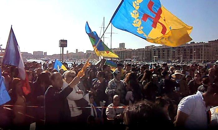 Rassemblement à Marseille : les kabyles de la cité phocéenne ont répondu présents