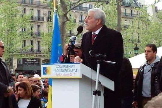 Annonces du Président Ferhat Mehenni à République