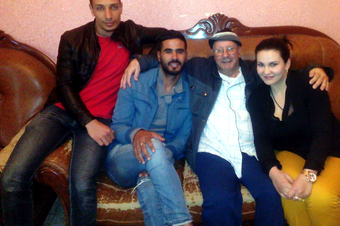 Une délégation du MAK-Anavad rend visite à Mohand Ouamar Hachim malade