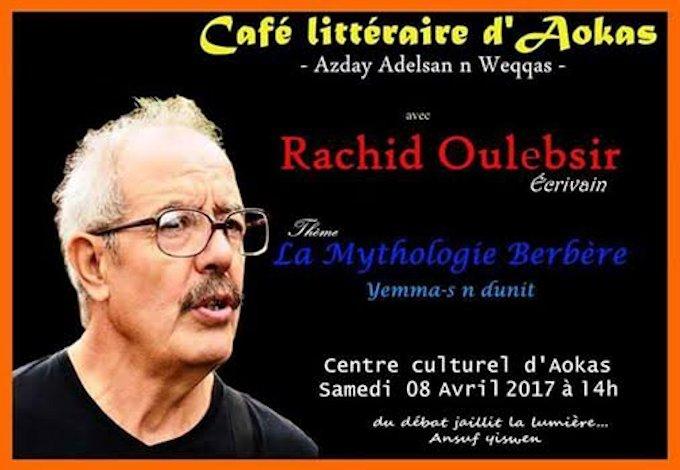 Agenda : Conférence de Rachid Oulebsir sur «Yemma-s n ddunit » à Aokas
