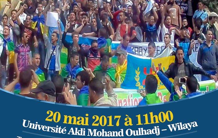 L'affiche officielle de la marche «Tuviret est kabyle» du 20 mai dévoilée