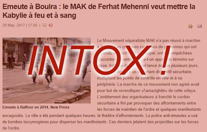 Marche du 20 mai à Tubirett : réponse à un journaleuxalgérien