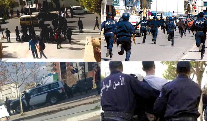 Marche « Tuvirett d taqvaylit » : Le point à 10h30 (des milliers de policiers déployés dans la ville)