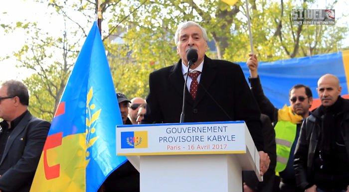 Le président de l'Anavad demande une mise sous protection internationale du peuple kabyle