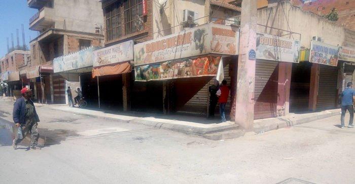Elections législatives coloniales  : 65% des commerçants ont baissé le rideau en Kabylie
