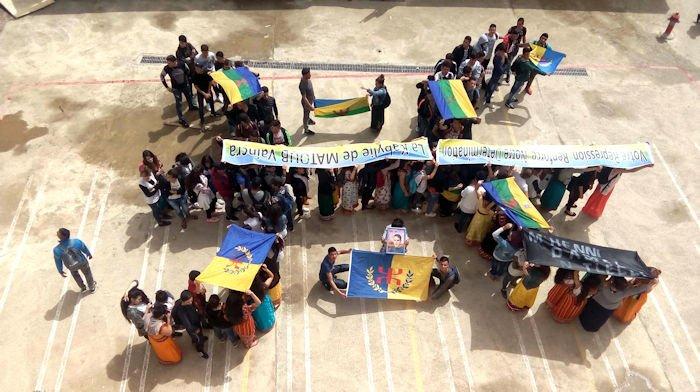 La gendarmerie de Vuvhir cherche à interpeller les lycéens qui ont rendu hommage à Meziani Mhenni