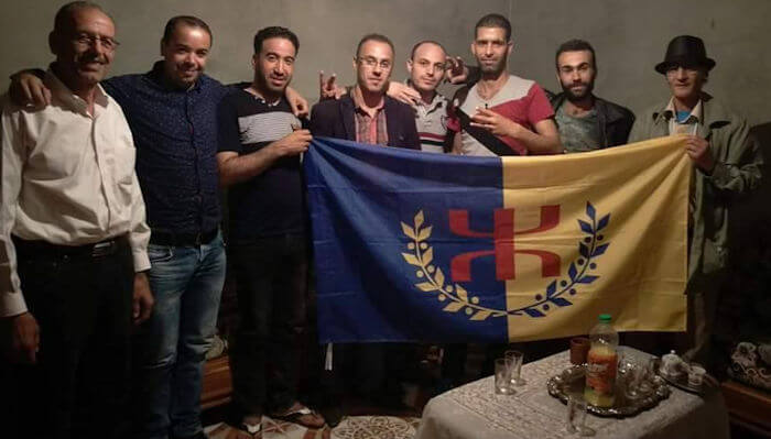 Une délégation du MAK-Anavad chez Lounis Kadim : le militant se porte de mieux en mieux
