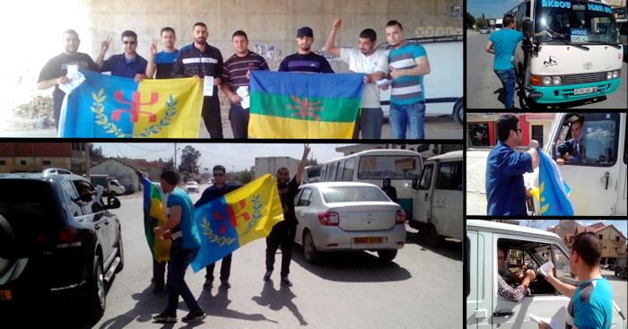 La Coordination MAK-Anavad de Tazmalt a distribué un millier de fascicules pour l'indépendance
