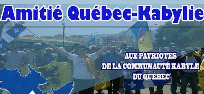 L'association Amitié Québec-Kabylie appelle à participer à la marche des Patriotes