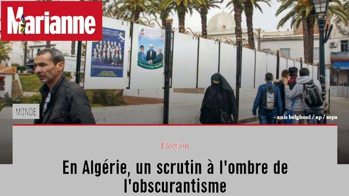 Pour le magazine Marianne, le MAK-Anavad et son président sont «la bête noire d'Alger»