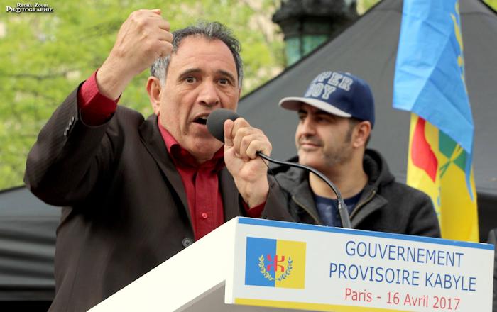 Shamy Chemini : «Le pouvoir colonial arabo-salafiste d'Alger ne cesse de bégayer depuis 1962 à ce jour»