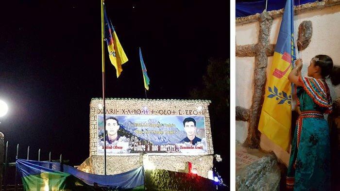 Le drapeau kabyle de Tawrirt Meqran enlevé : la coordination MAK-Anavad d'At Yiraten se réunit