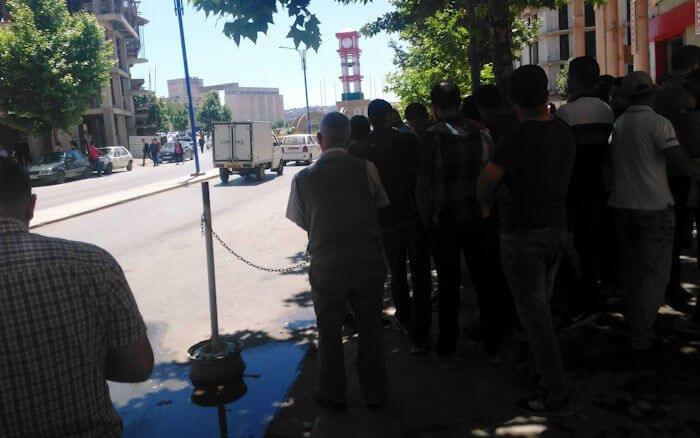 Marche réprimée à Tuvirett : Point à 13h30 (Tuvirett ville vidée et toujours en état de siège)