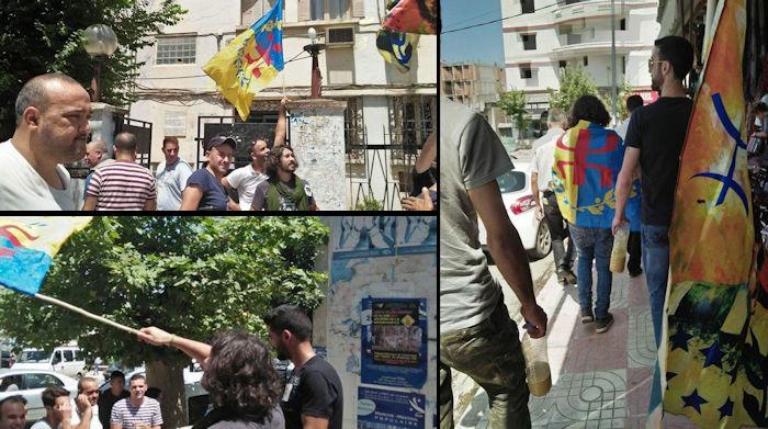 Répression en cours contre les militants du MAK-Anavad en plein campagne d'affichage à Iɛeẓẓugen (actualisé)