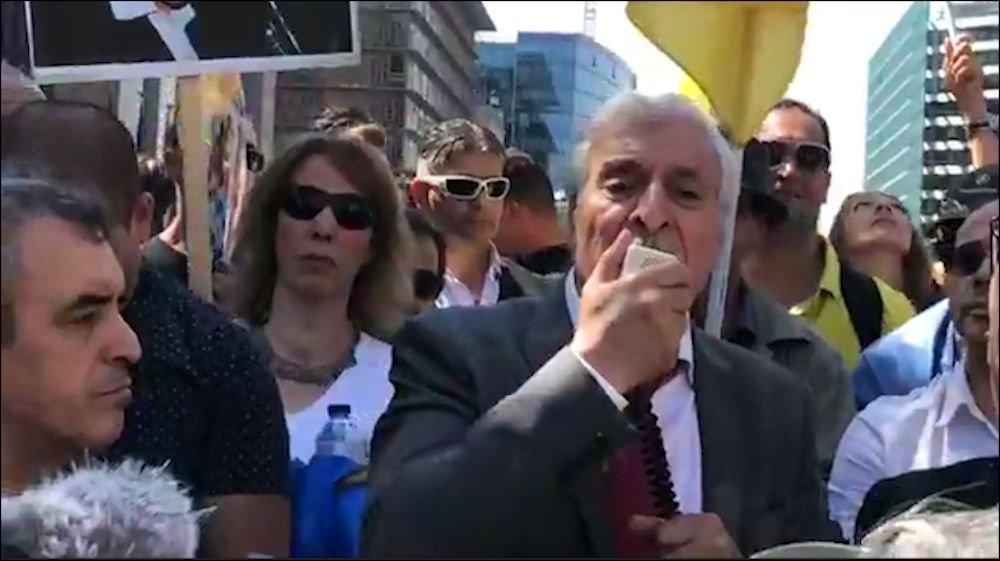L'intervention du Président de l'Anavad au rassemblement de Bruxelles