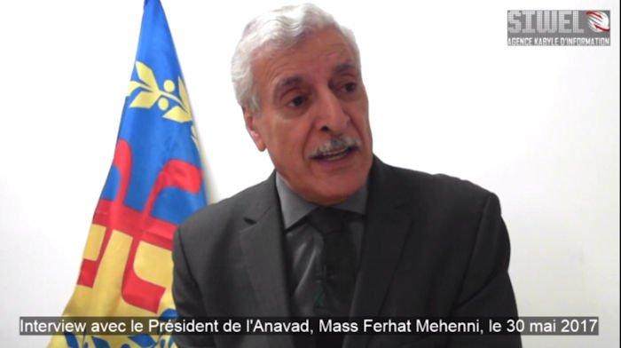 Synthèse de l'interview filmée du Président de l'Anavad du 30 Mai 2017