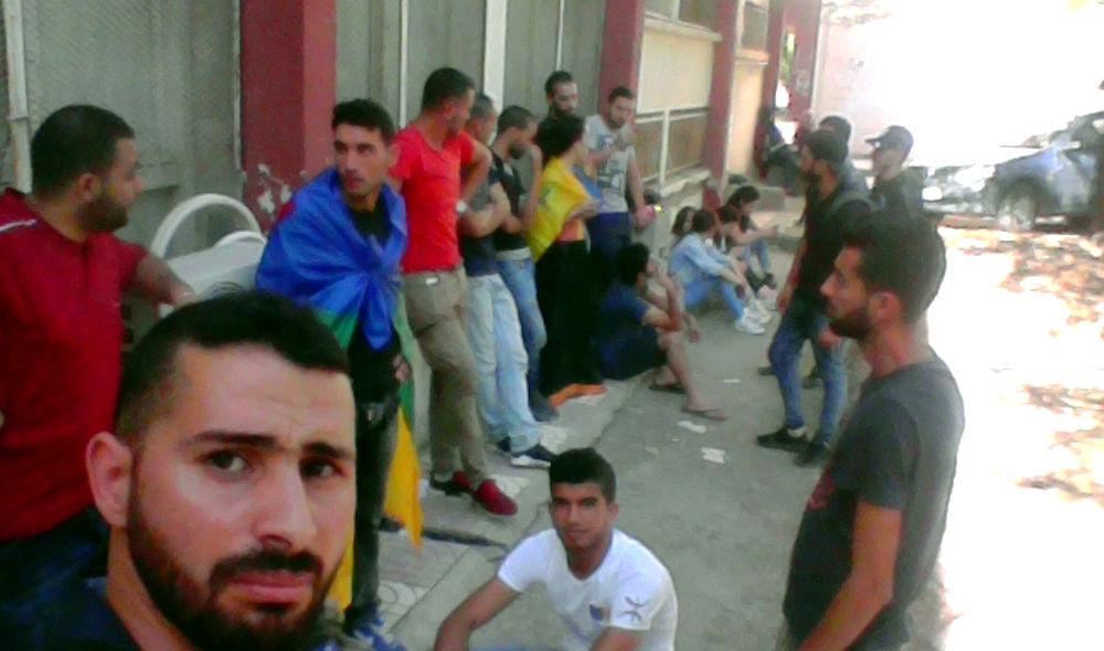 Une trentaine de militants du MAK-Anavad ont passé la nuit au commissariat colonial de Tizi Wezzu