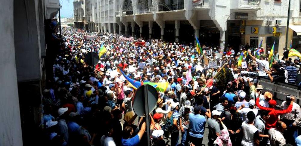 Solidarité avec le Rif : grande manifestation dans la capitale marocaine