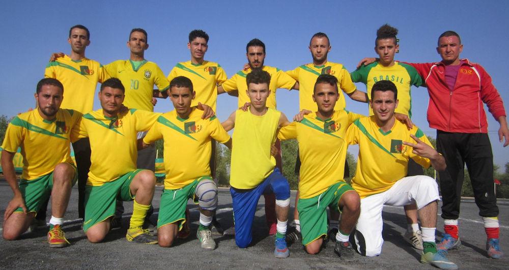 L'équipe «Imeγnasen», aux couleurs kabyles, a gagné le tournoi de Raffour